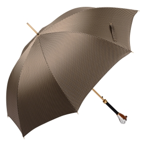 Зонт-трость Pasotti Bulldog Pepita Beige фото-4