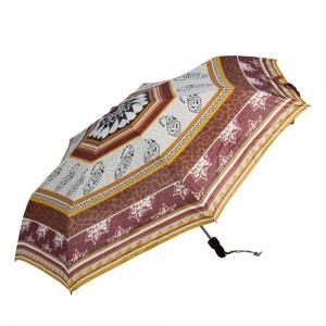 Зонт складной Joy Heart J9513-OC Etnico Umber фото-2