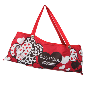 Зонт складной Moschino 7007-OCC Olivia Hearts Red фото-5