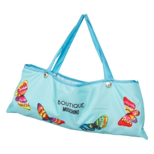 Зонт складной Moschino 7078-OCP Butterflies Blue фото-4