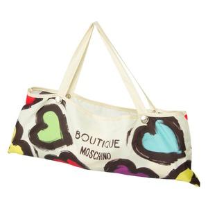 Зонт складной Moschino 7081-OCI Painted hearts Beige фото-4