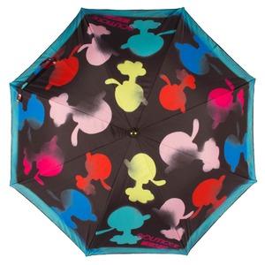 Зонт трость Moschino 7122-63AUTOA Olivia Spray Black фото-2