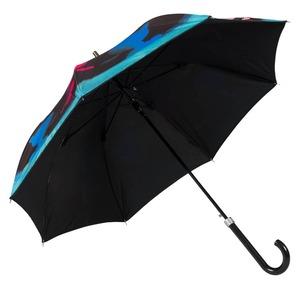 Зонт трость Moschino 7122-63AUTOA Olivia Spray Black фото-5
