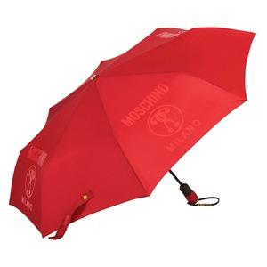 Зонт складной Moschino 8010-OCC Lettering Red фото-2