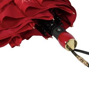 Зонт складной Moschino 8010-OCC Lettering Red фото-4