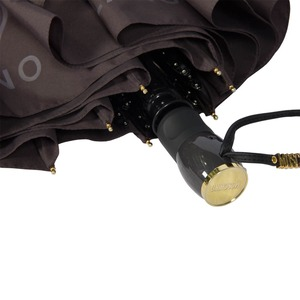 Зонт складной Moschino 8010-OCL Lettering Grey фото-3