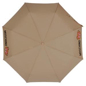 Зонт складной Moschino 8040-OCD Toy in love Dark Beige фото-2