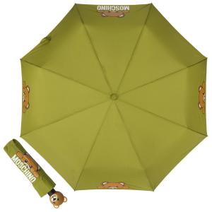 Зонт складной Moschino 8194-OCM Hidden Teddy Green фото-1