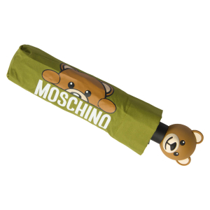 Зонт складной Moschino 8194-OCM Hidden Teddy Green фото-3