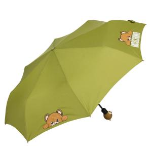 Зонт складной Moschino 8194-OCM Hidden Teddy Green фото-2