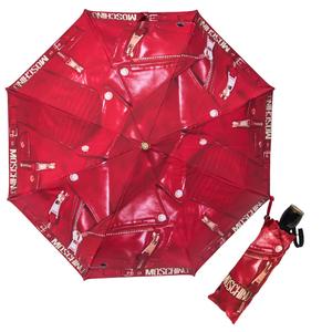 Зонт складной Moschino 8200-OCC Biker Jacket Red фото-1