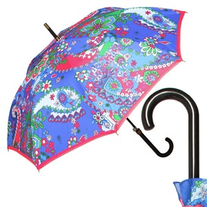 Зонт-Трость Moschino 8264-63AUTOF Paisley Blue фото-1