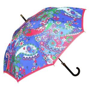 Зонт-Трость Moschino 8264-63AUTOF Paisley Blue фото-3