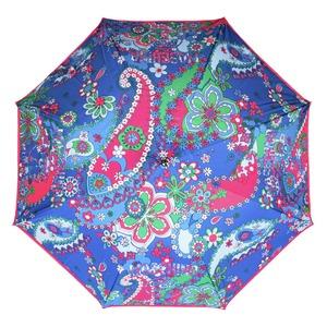 Зонт-Трость Moschino 8264-63AUTOF Paisley Blue фото-2