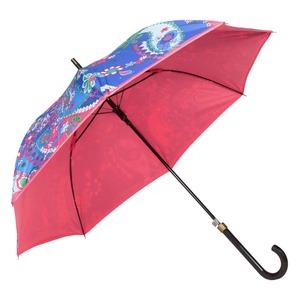 Зонт-Трость Moschino 8264-63AUTOF Paisley Blue фото-4