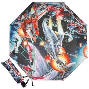 Зонт складной Moschino 8272-OCA Transformers Multi фото-1