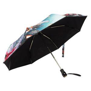 Зонт складной Moschino 8272-OCA Transformers Multi фото-3