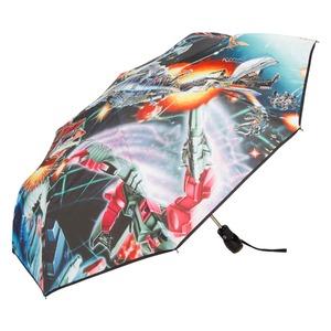 Зонт складной Moschino 8272-OCA Transformers Multi фото-2