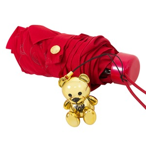 Зонт складной Moschino 8043-SuperminiС Monobear Red фото-3
