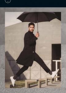 Зонт-трость M&P C1790-LA Golf Clima Black фото-7