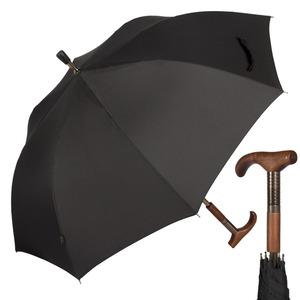 Зонт-трость M&P C199-LM Canna Black фото-1