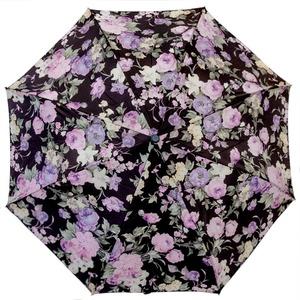 Зонт складной Pasotti Mini Briar Lilla фото-1