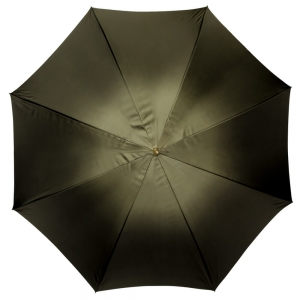 Зонт-трость Pasotti Oliva Georgin Diritto Pelle фото-4