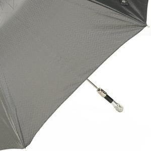 Зонт складной Pasotti Auto Eagle Silver Onda Black фото-3
