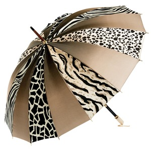 Зонт-трость Pasotti Uno Multi Safari Nacre фото-3