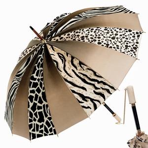 Зонт-трость Pasotti Uno Multi Safari Nacre фото-1