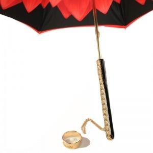 Зонт-трость Pasotti Rosso Georgin Bella фото-4
