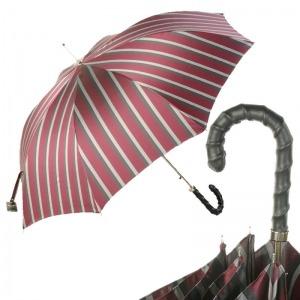Зонт-трость Pasotti Helix Alfred Bordo фото-1