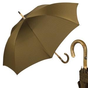 Зонт-трость Pasotti Ash Punto Oliva фото-1
