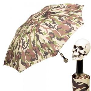 Зонт складной Pasotti Auto Capo Osso Military фото-1