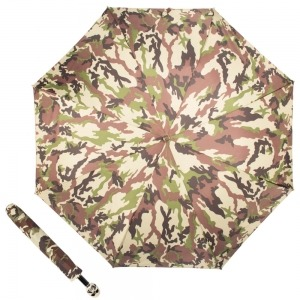 Зонт складной Pasotti Auto Capo Osso Military фото-4