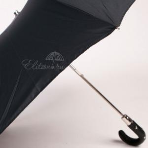 Зонт складной Pasotti Auto Esperto Oxford Black фото-4