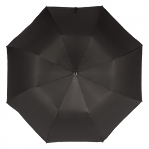 Зонт складной Pasotti Auto Fido Silver Oxford Black фото-3