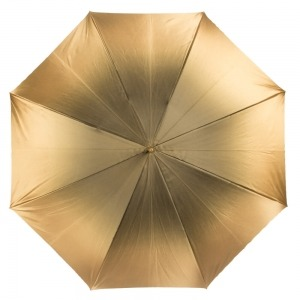 Зонт-трость Pasotti Becolore Georgin Beige Pelle фото-2