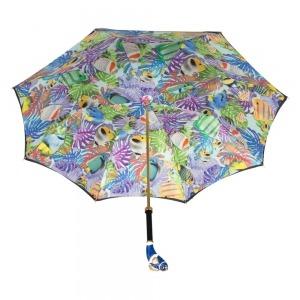 Зонт-Трость Pasotti Blu Nemo Lux фото-3