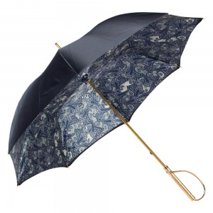 Зонт-Трость Pasotti Blu  Paisley Rapira Oro фото-3