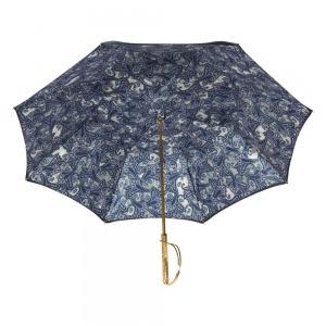 Зонт-Трость Pasotti Blu  Paisley Rapira Oro фото-4
