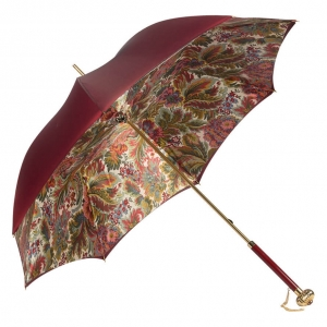 Зонт-трость Pasotti Bordo Motivi Glob фото-2