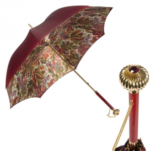 Зонт-трость Pasotti Bordo Motivi Glob фото-1