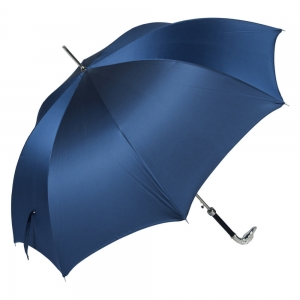 Зонт-Трость Pasotti Bracco Silver Oxford Blu фото-3