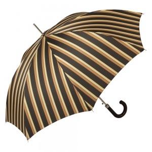 Зонт-Трость Pasotti Braid Alfred Marrone фото-3