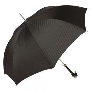 Зонт-Трость Pasotti Cavallo Codino Black фото-3