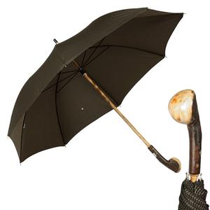 Зонт-Трость Pasotti Chestnut Punto Black фото-1