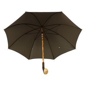 Зонт-Трость Pasotti Chestnut Punto Black фото-2