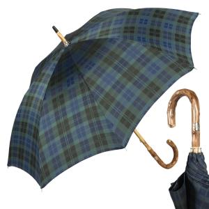 Зонт-трость Pasotti Congo Chestnut Blu Celtic фото-1