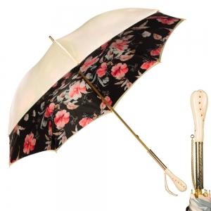 Зонт-Трость Pasotti Crema Magnolia Tress фото-1